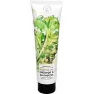 Organic Sensitive 2in1 Shower & Shampoo Kale & Jojoba 50 ml - HANDS ON VEGGIES