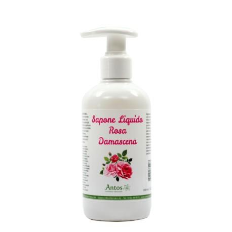 Sapone Liquido Alla Rosa Damascena - ANTOS