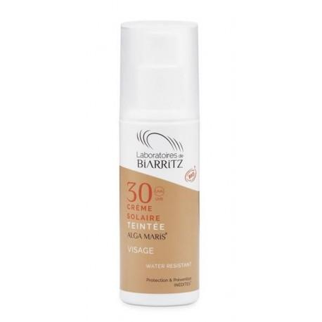Crema Solare Viso Colorata Claire SPF 30   50 ml - ALGA MARIS
