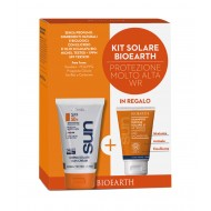 Sun Kit Crema SPF 50 Resistente all'acqua+ Shampoodoccia - BIOEARTH