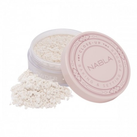Close-Up Baking & Setting Powder Translucent - NABLA