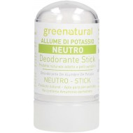 Deodorante Stick - Allume di Potassio Neutro - GREENATURAL