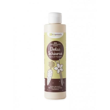 Detergente corpo Vaniglia e Carota Dolce Schiuma  - LA SAPONARIA
