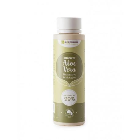 Succo di Aloe  Gel di Aloe Vera Puro 99% - LA SAPONARIA