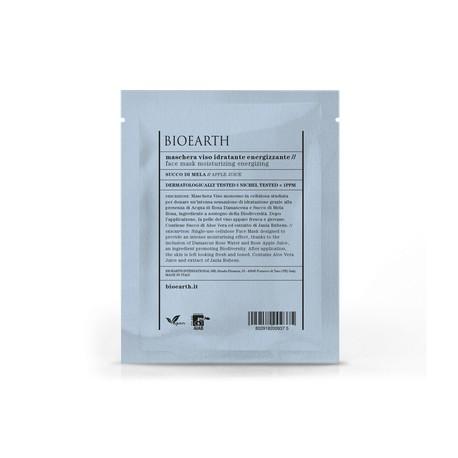 Maschera Viso Idratante Energizzante - Busta Monouso - BIOEARTH