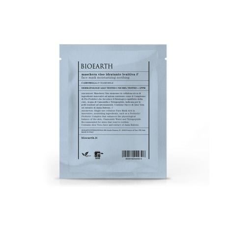 Maschera Viso Idratante Lenitiva - Busta Monouso - BIOEARTH