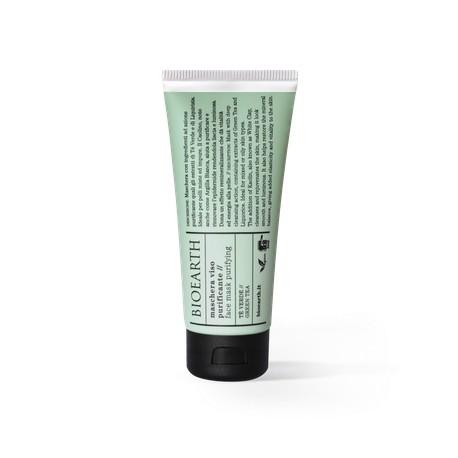 Maschera Viso Purificante Te' Verde - BIOEARTH