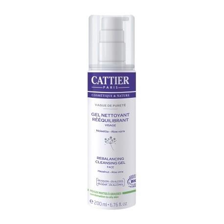 Gel viso detergente e riequilibrante  - CATTIER