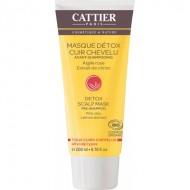 Maschera detox pre-shampoo argilla rosa e limone - CATTIER