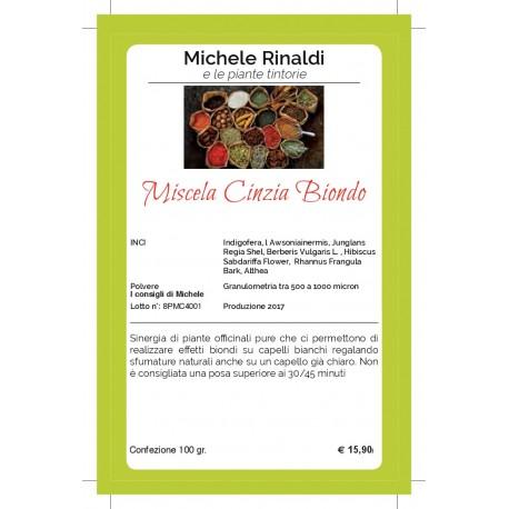 Miscela Cinzia ( biondo) - MICHELE RINALDI E LE ERBE TINTORIE