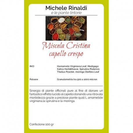 Miscela Cristina (capello crespo) - MICHELE RINALDI E LE ERBE TINTORIE