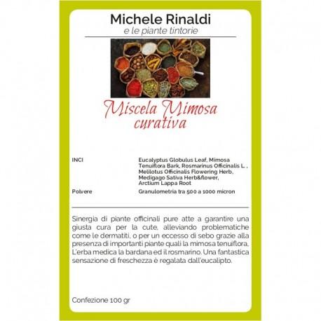 Miscela mimosa ( curativa ) - MICHELE RINALDI E LE ERBE TINTORIE