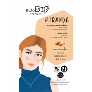 """MASCHERA IN CREMA PELLE GRASSA """"MIRANDA  05 - PUROBIO"""