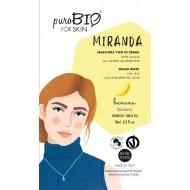 """MASCHERA IN CREMA PELLE GRASSA """"MIRANDA  06 - PUROBIO"""